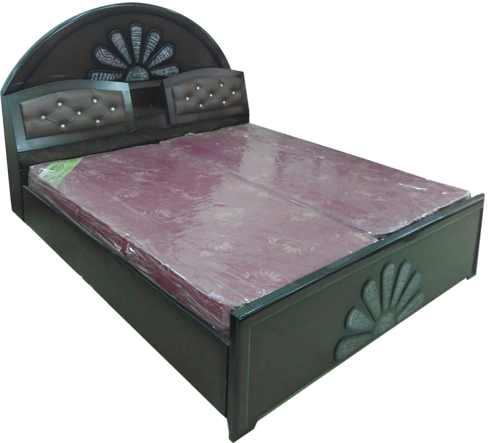 Ibby designer double bed dream furniture for Diwan bed size