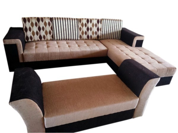 Sofa set L-shaped royal 7 seater