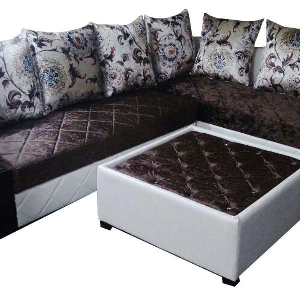 Henri L Shape Sofa Set Center Table Dream Furniture